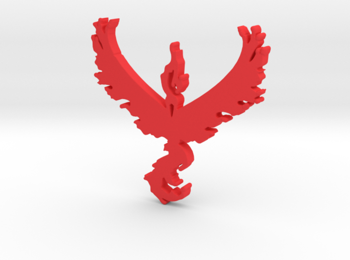 Team Valor - Pokemon Go 3d printed