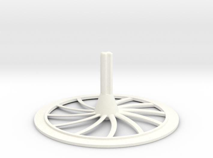 Turbine Hubcap--RH 3d printed