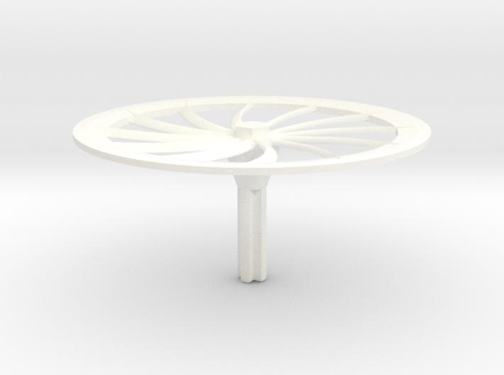 Turbine Hubcap--LH 3d printed