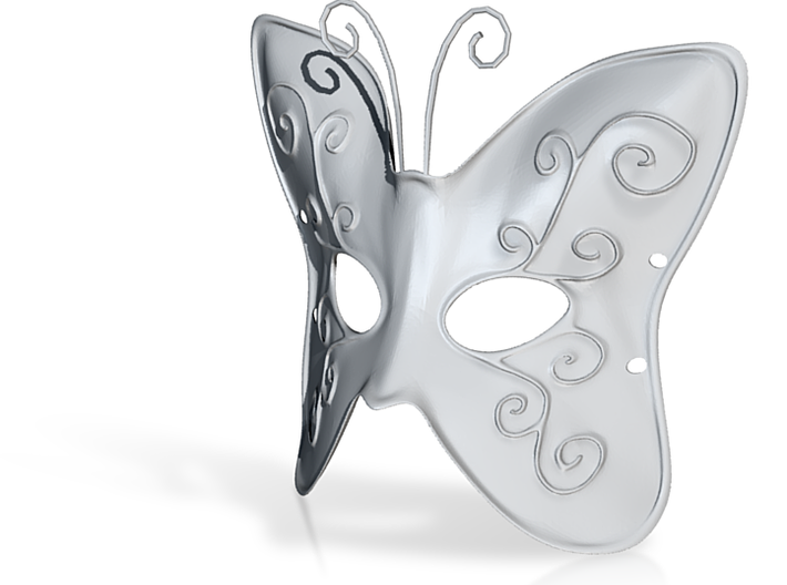 Splicer Mask Butterfly (Mens Size) 3d printed