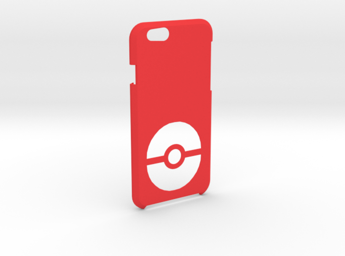Iphone 6S/6 Pokeball Case 3d printed
