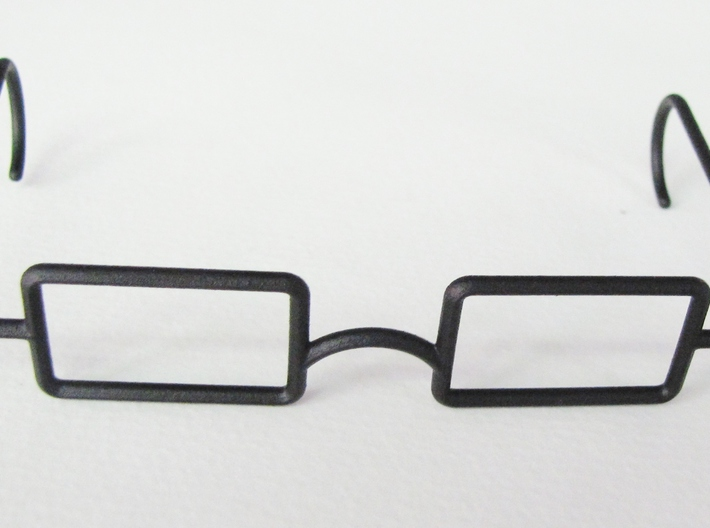 Mrs. Beasley Glasses for 21 3d printed Black Rough