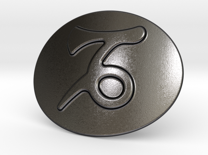 Capricorn Belt Buckle 3d printed