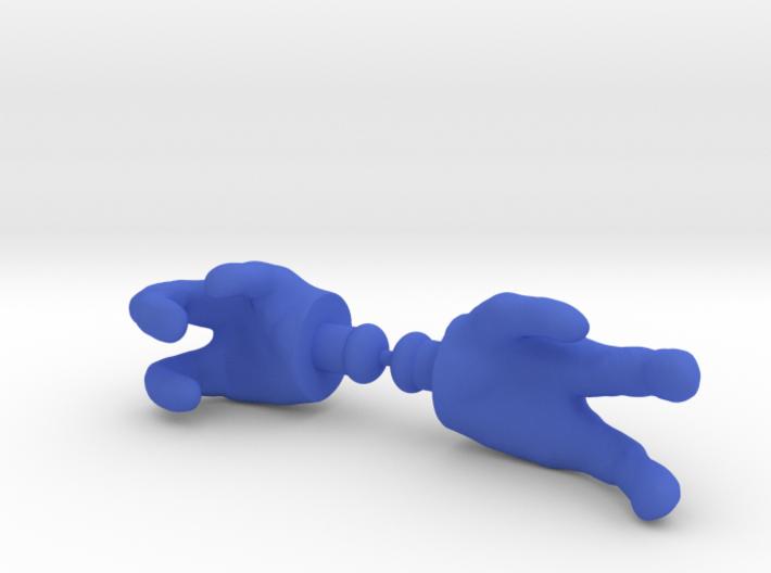 Gaze-Man Hands 3d printed