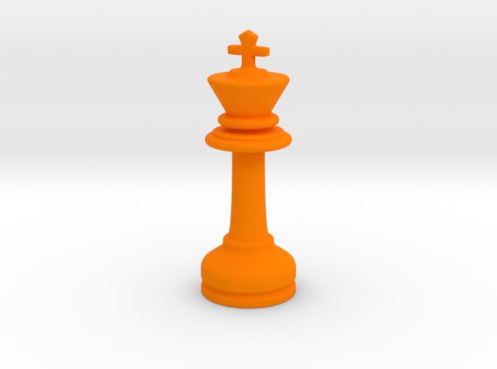MILOSAURUS Chess MINI Staunton King 3d printed