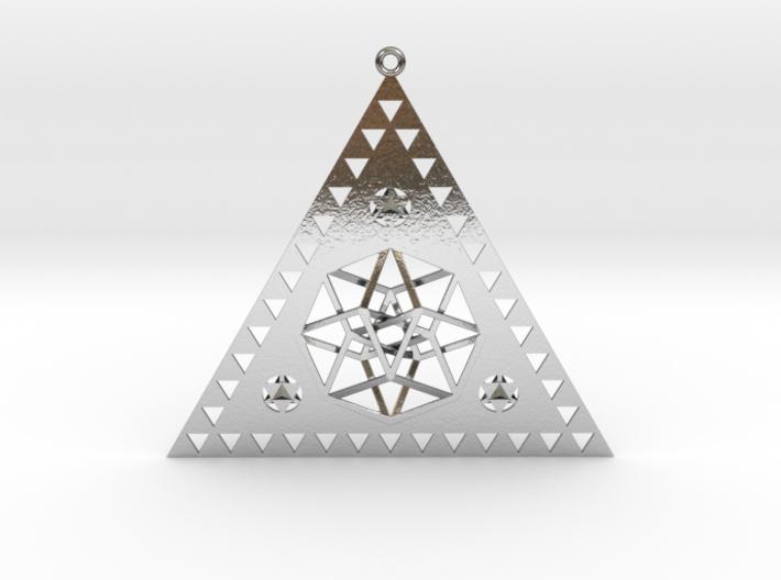 Pleiadian Symbol Pendant 3d printed