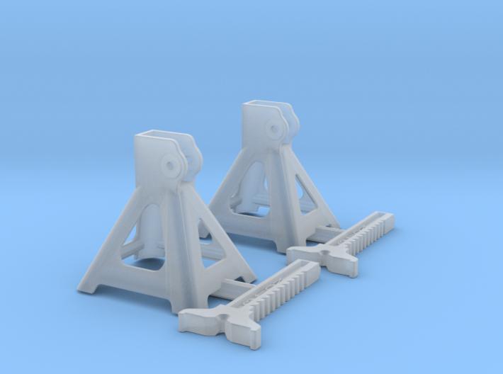 1/18 Jack Stand Pair 3d printed