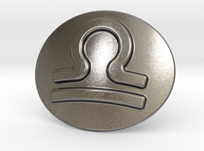 Libra Belt Buckle 3d printed