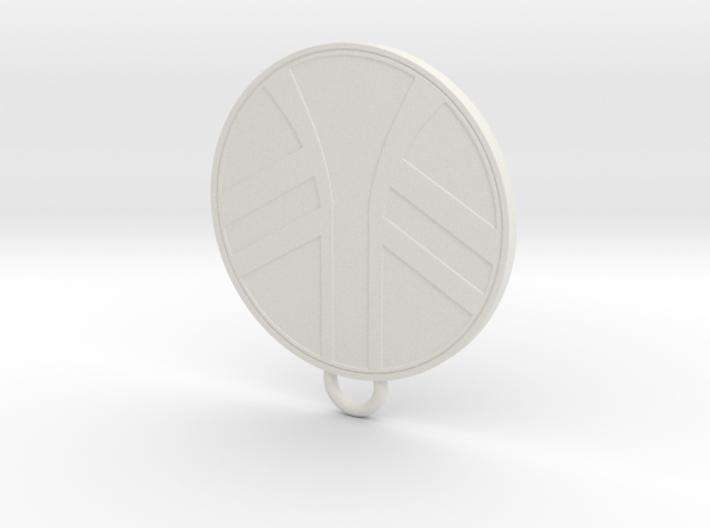 UKCM Keychain 3d printed