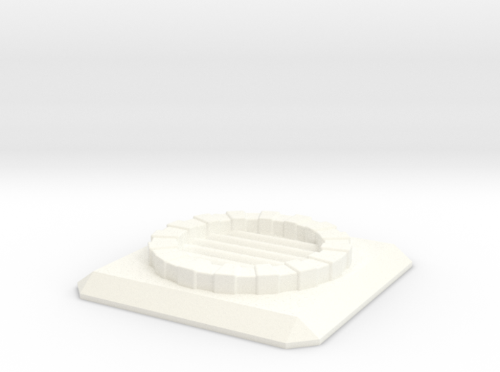 Fantasy Sewer Grate Plate 3d printed