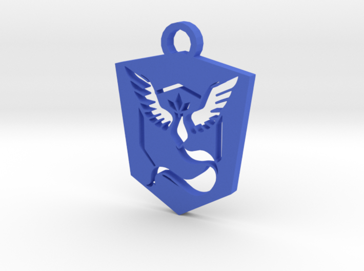 Team Mystic Keychain - Pokemon GO 3d printed