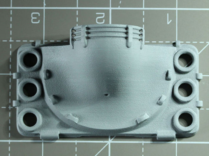 Sand Scorcher Fan Cowling 3d printed Fan Cowling, printed in nylon plastic, painted with primer