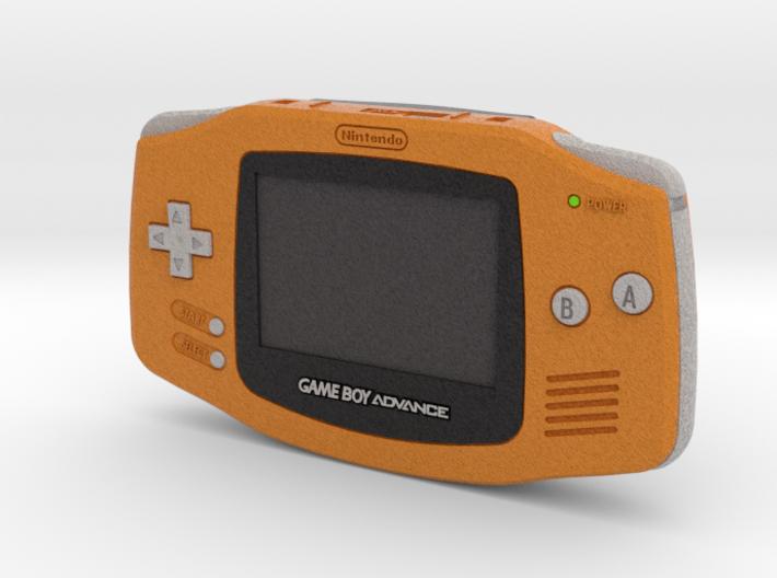 1:6 Nintendo Game Boy Advance (Orange) 3d printed