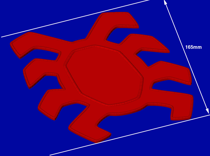 Spider-Man Homecoming Back Spider-165mm 3d printed