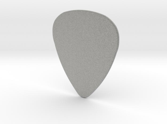 Basic 1mm Guitar Plectrum 3d printed