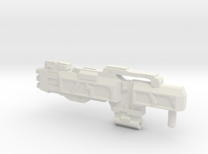 """Sawback"" RESIZED 5mm post 3d printed"