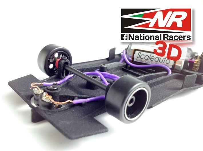 3D chassis -  Power Slot Lola T-298 (AW-SW) 3d printed