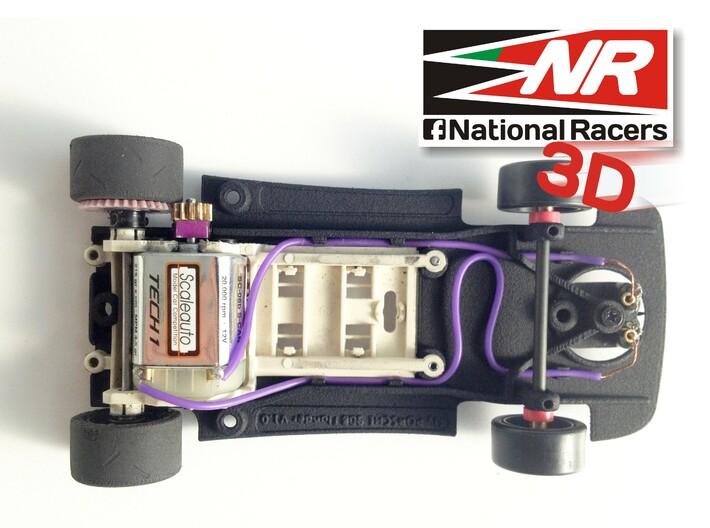 3D chassis - Fly Porsche 908 Flunder/Flunder LH 3d printed