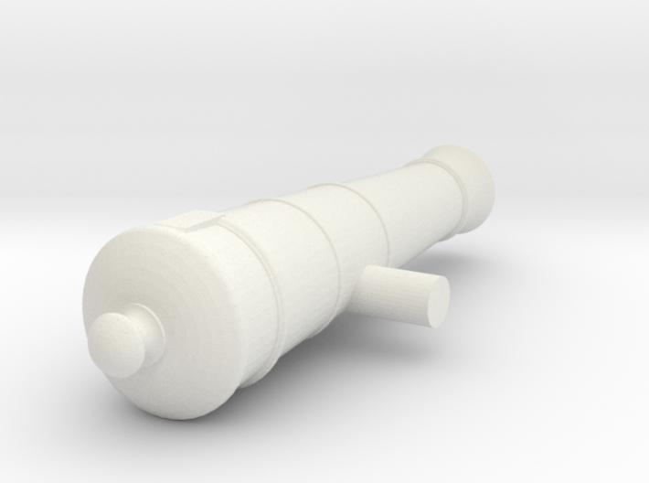 1:24 6 lb Short Cannon 3d printed