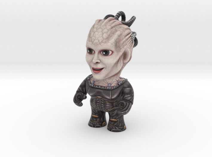 Borg Queen Star Trek Caricature 3d printed Borg Queen Star Trek Caricature