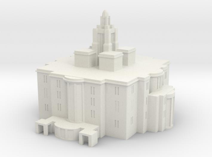 Payson utah lds temple 3d printed