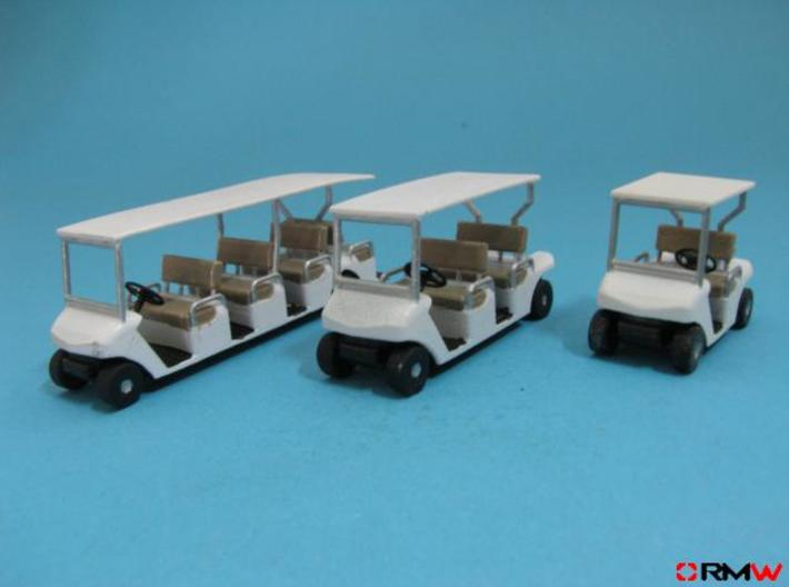 HO/1:87 Buggy, 2 seating rows, kit 3d printed [en]painted and assembled