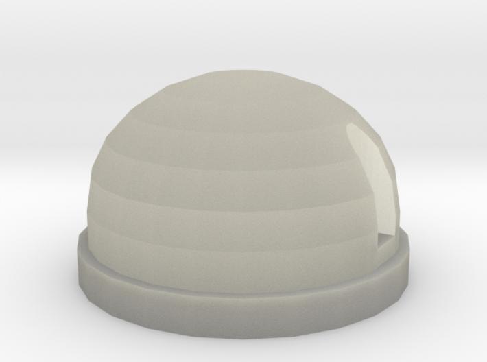Rear light white D90 D110 Gelande 1:10 3d printed