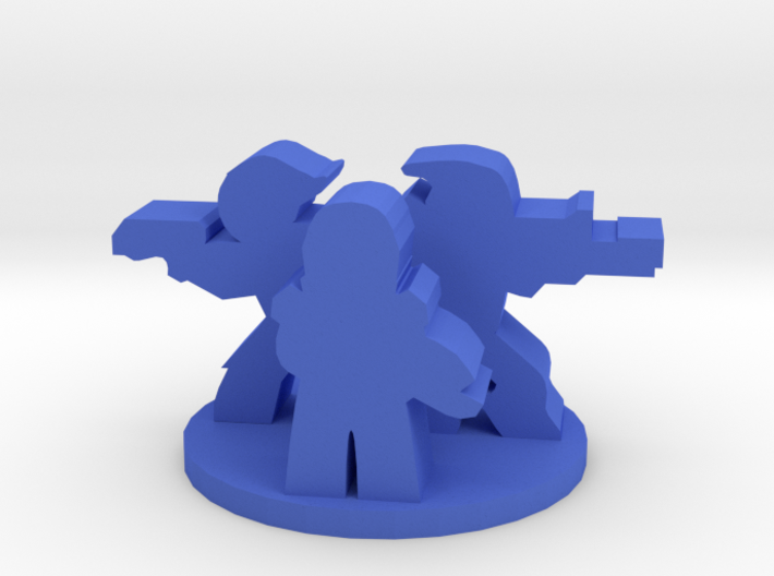 Game Piece, Mass Galaxy Squad 3d printed