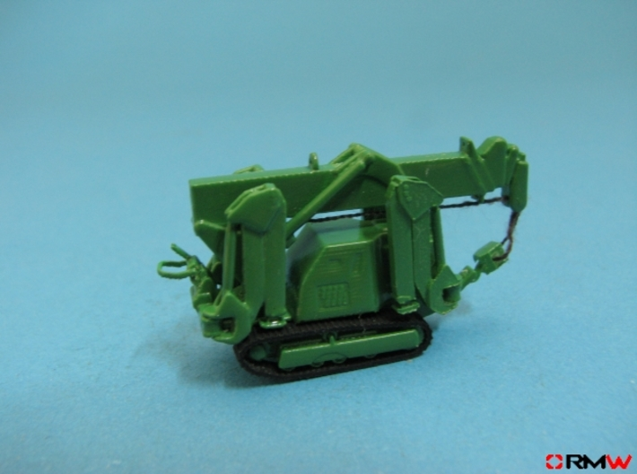 HO/1:87 Mini Crawler Crane Set A kit 3d printed [en]painted and assembled [de]bemalt und gebaut
