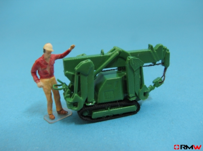 HO/1:87 Mini Crawler Crane Set A kit 3d printed [en]painted and assembled