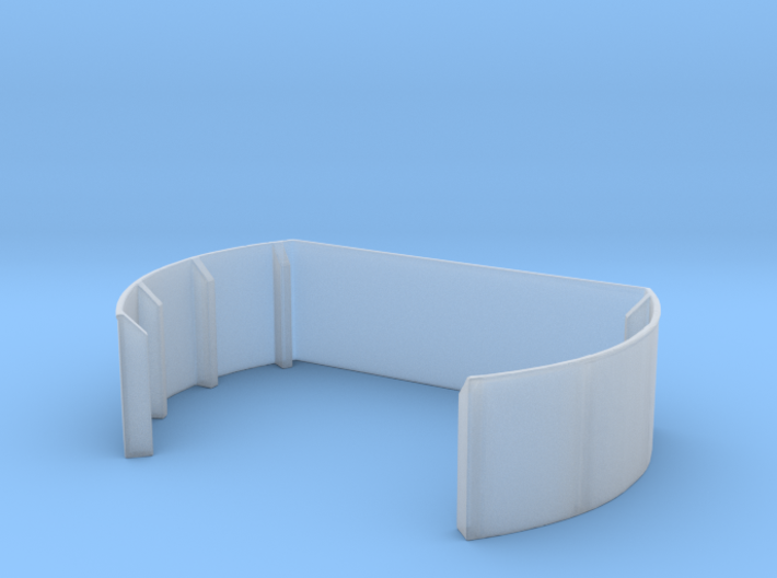 1/144 40mm Twin Midships Tub 3d printed