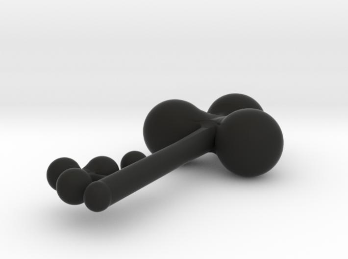 Clover Key Pendant 1 3d printed