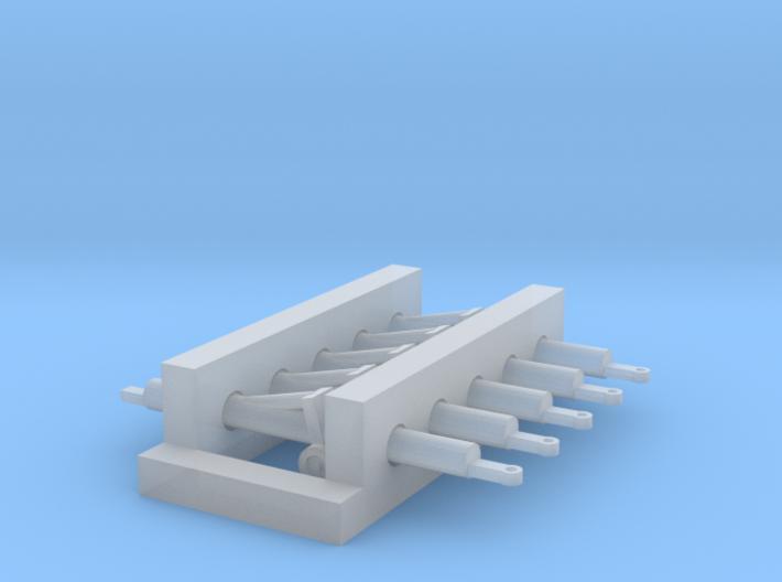 1:400 GSE 5x Aircraft Towbar 3d printed