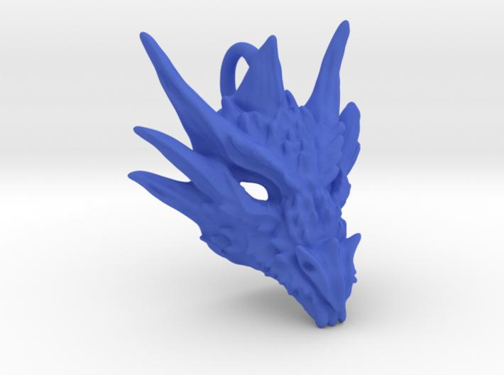 Plastic Umbral Dragon Pendant 3d printed