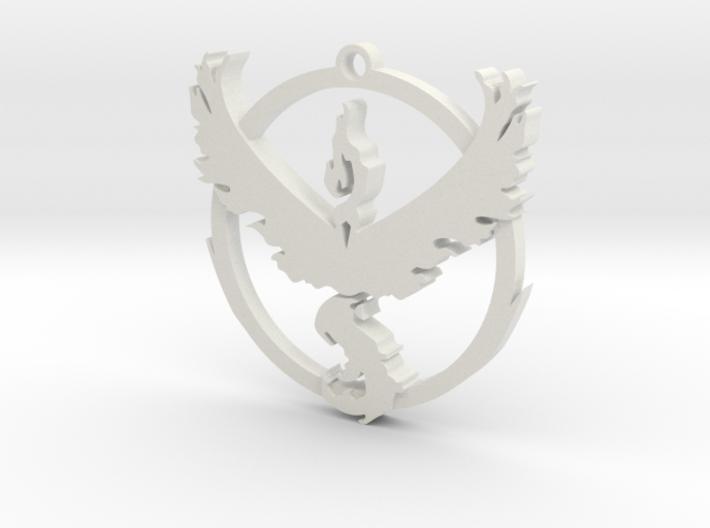 Team Valor Pendant 3d printed