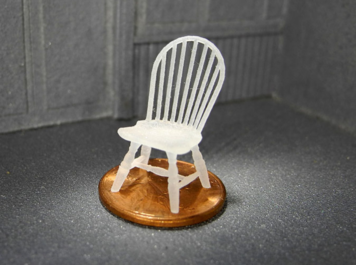 1:48 Hoop Back Windsor Chairs 3d printed