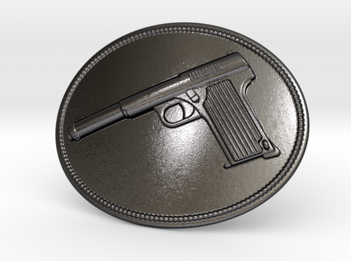 Astra Belt Buckle 3d printed