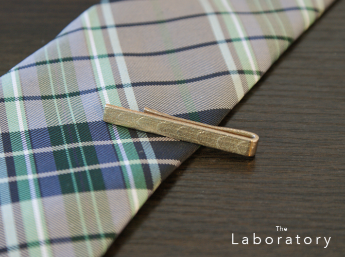 Classic Tie Bar (Metals) 3d printed