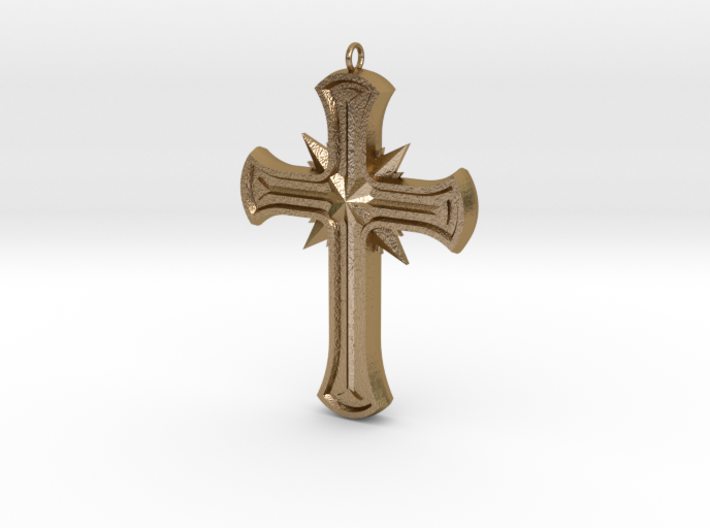 Gothic Cross 3d printed