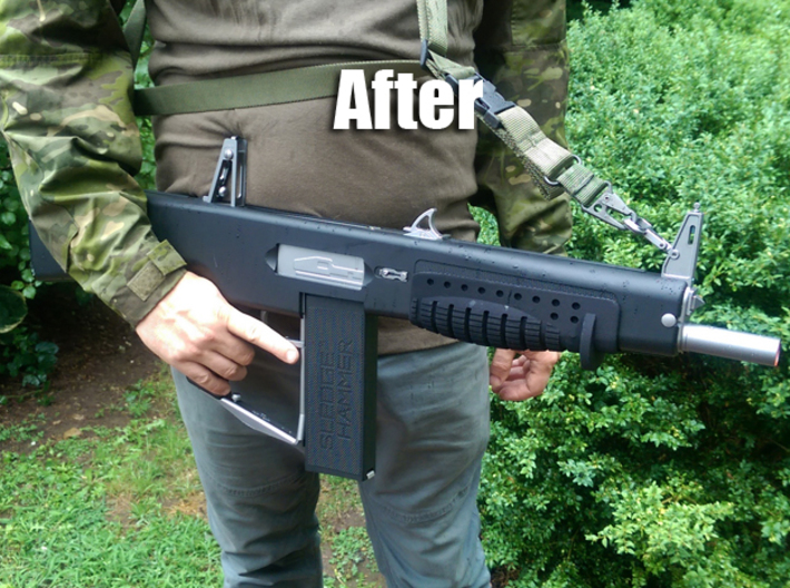 Airsoft Shotgun Forward Grip 3d printed