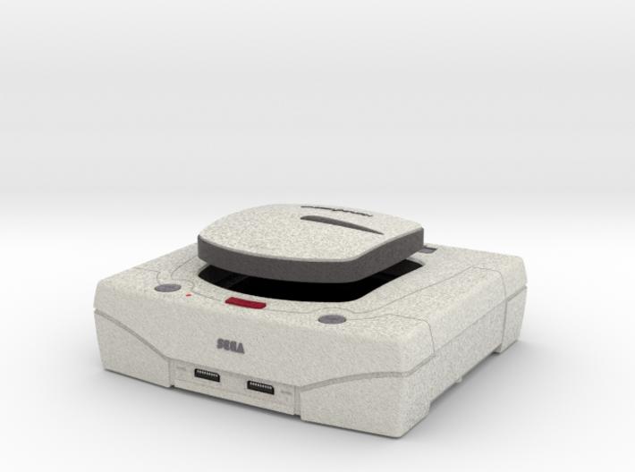 1:6 Sega Saturn (White) 3d printed