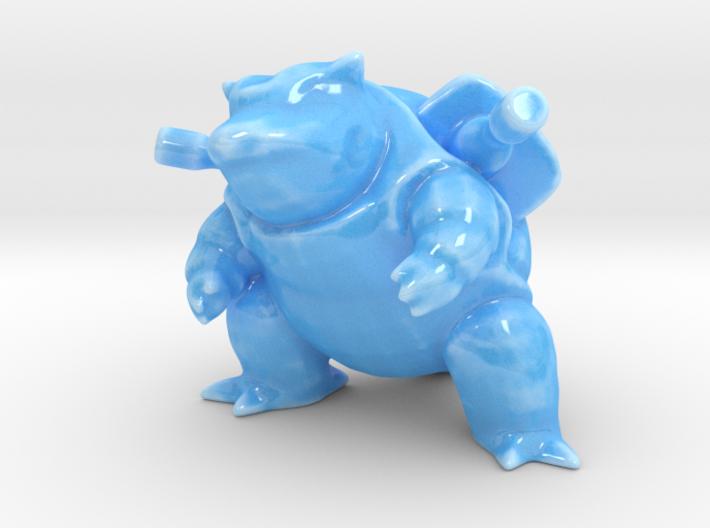 Porcelain Blastoise 3d printed