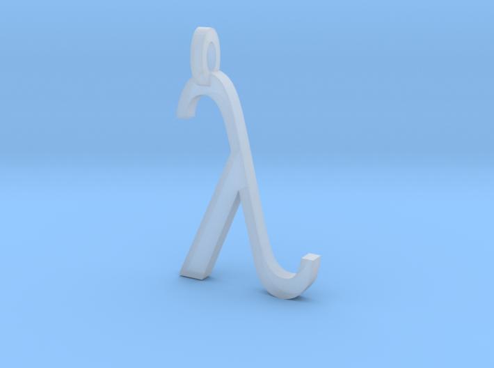 Lambda 3d printed