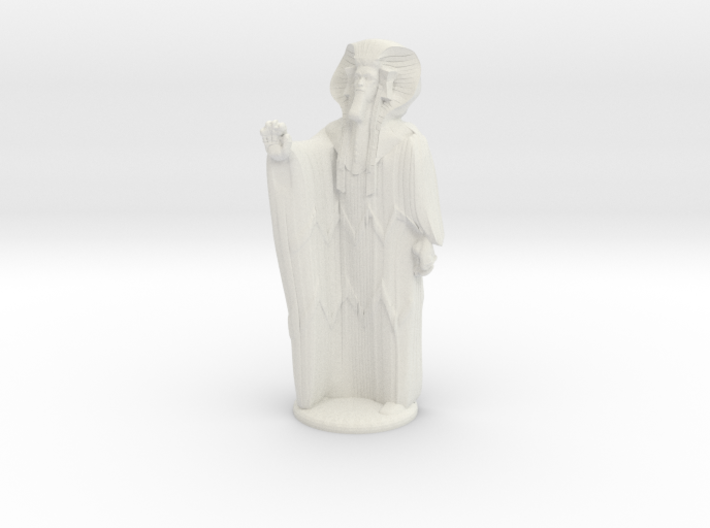 Ra in Robes with hand device - 20 mm 3d printed