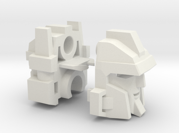 Aimless Shooter's Head Voyager 3d printed