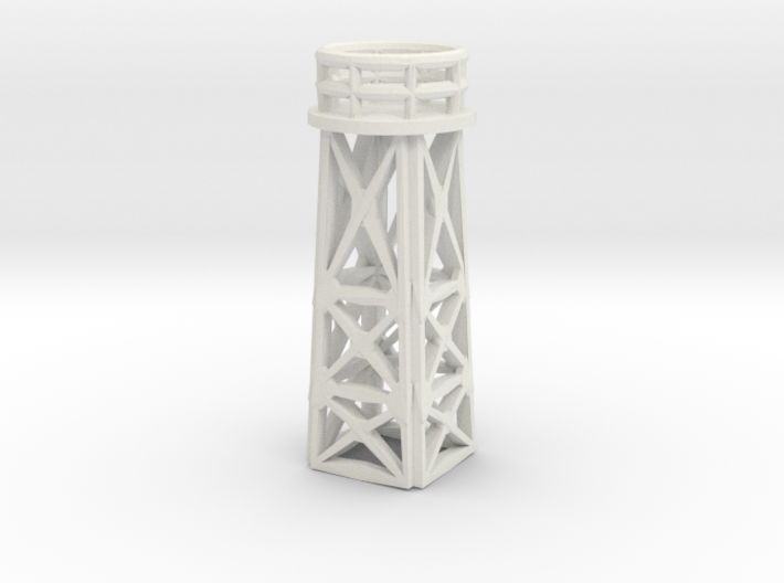 1/144 Scale Search Light Tower 3d printed