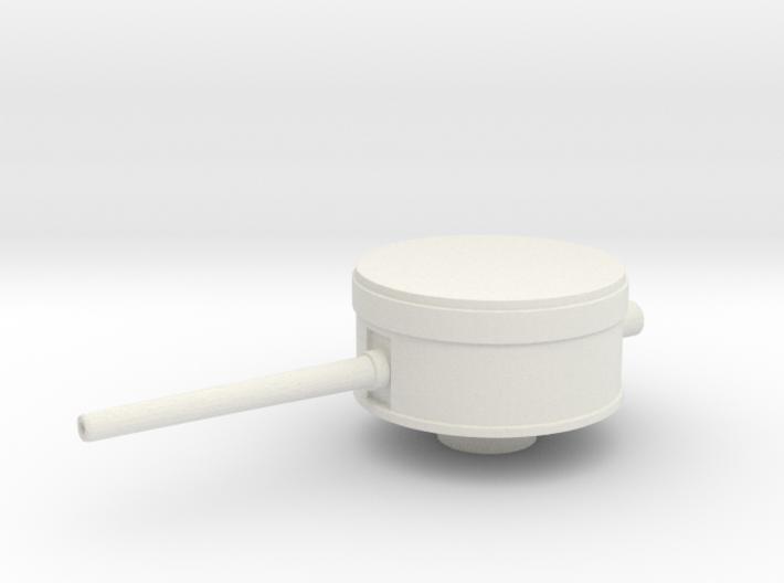 1/144 Scale 6 In Mk 13 Mod 1 Single Turret 3d printed