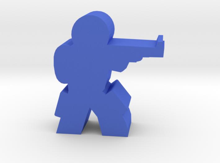 Game Piece, Militia Engineer Karl 3d printed