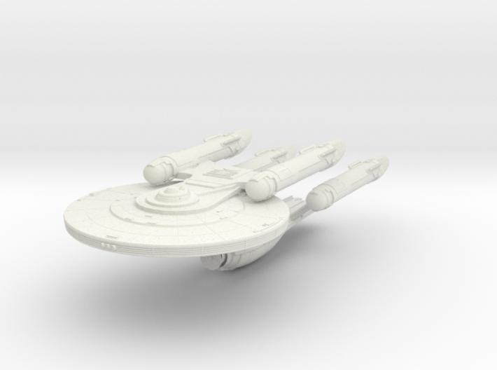 KittyHawk Class BattleCruiser 3d printed