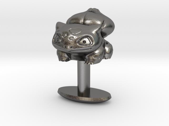 Pokemon Bulbasaur Cufflink 3d printed